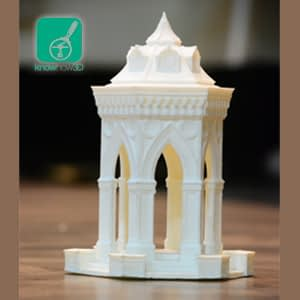 3d printed temple/building