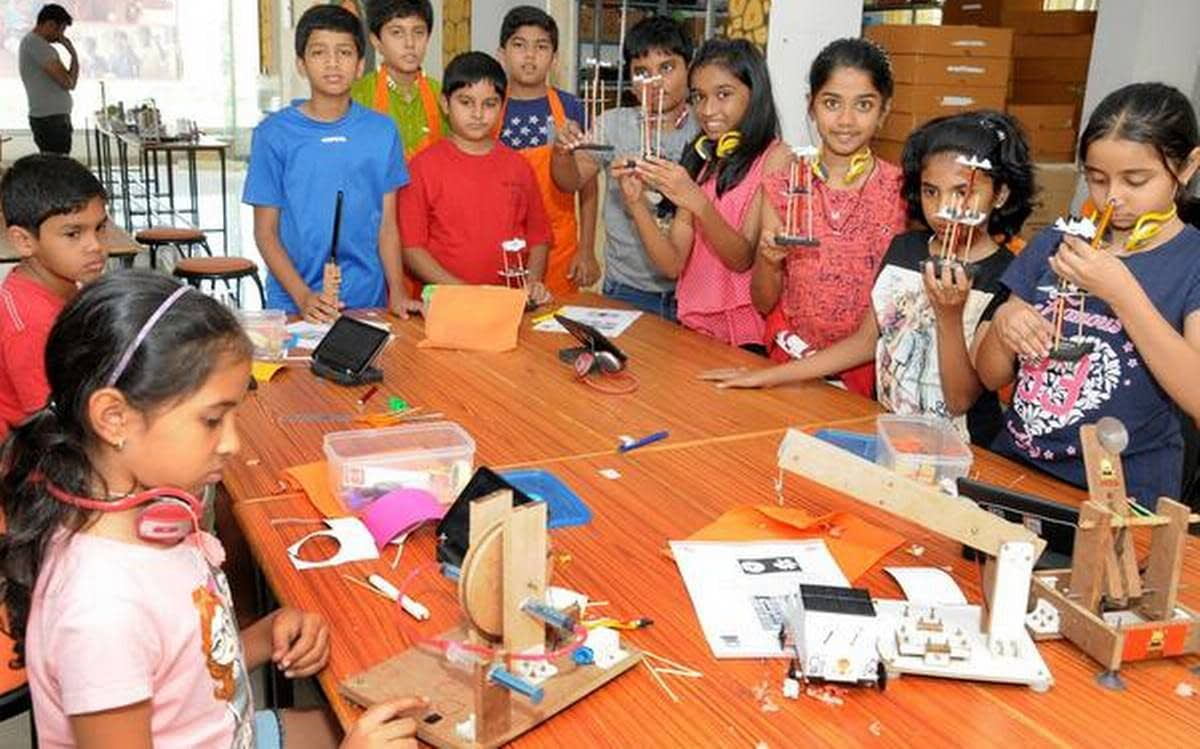 Atal tinkering lab set up in schools