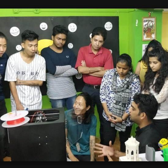 3D printing workshop in Workshop in Arena Panbazaar, Guwahati